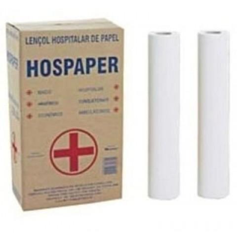 Papel Lençol 70x50 Hospaper (2 Rolos)