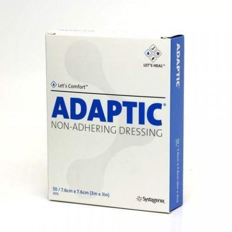 Curativo Adaptic - 7,6 X 7,6cm - Kit 10 Unidades