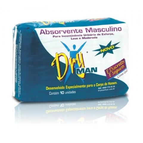 Absorvente Masculino Dryman C/10