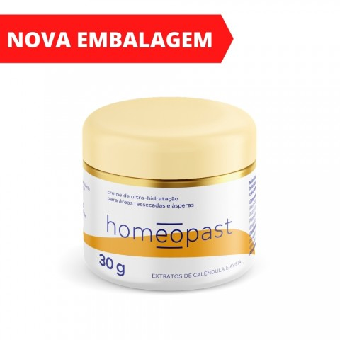 Homeopast Creme Ultra Hidratação 30g