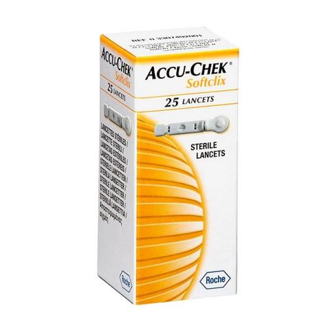 Lancetas Accu-chek Softclix Roche - c/ 25