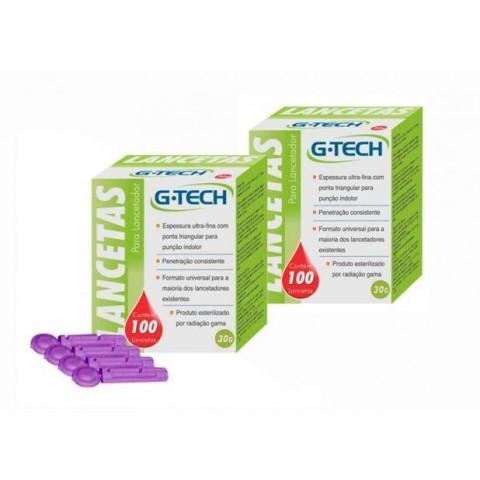 Lanceta G-Tech c/100 unidades