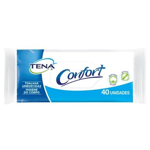 Toalhas Umedecidas Tena Biofral Confort 19,5 X 24,5 CM - 40 Unidades
