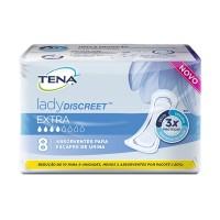 Absorvente Tena Lady Discreet Extra c/8